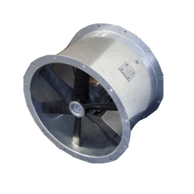 ISD500| 500mm Ex'd' Single Phase Hazardous Duct Mounted Fan -